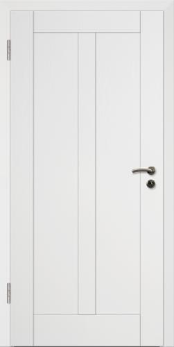 Rahmen Design Tür Weißlack CPL Rahmen 14
