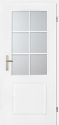Stiltürelement Weißlack Blatt 14F