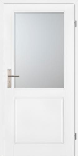 Stiltürelement Weißlack Blatt 14H5