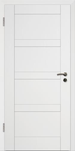 Rahmen Design Tür Weißlack CPL Rahmen 9