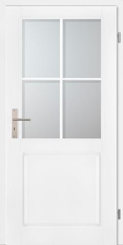 Stiltürelement Weißlack Blatt 14H5 Sp0