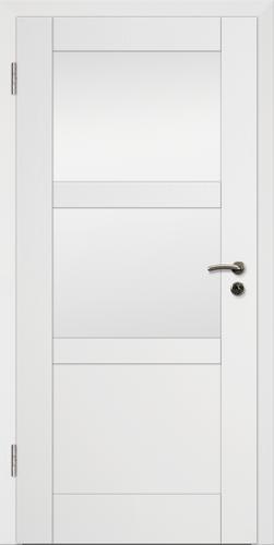 Rahmen Design Tür Weißlack CPL Rahmen 7