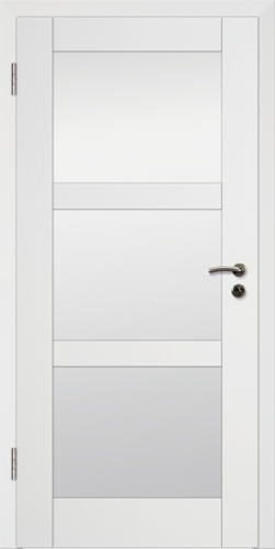 Rahmen Design Tür Weißlack CPL Rahmen 8