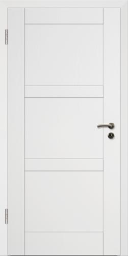 Rahmen Design Tür Weißlack CPL Rahmen 5
