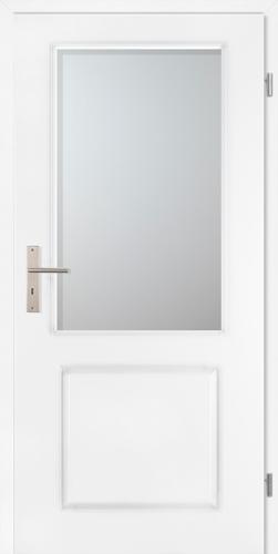 Stiltürelement Weißlack Blatt 14E5