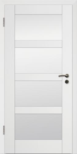 Rahmen Design Tür Weißlack CPL Rahmen 13