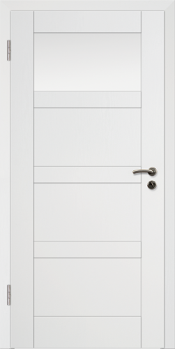 Rahmen Design Tür Weißlack CPL Rahmen 10