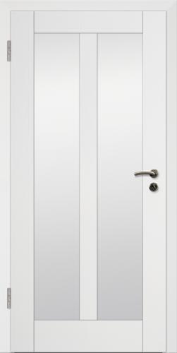 Rahmen Design Tür Weißlack CPL Rahmen 15