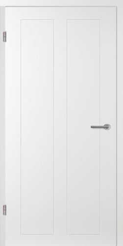 Designtürelement Weißlack EPC mit Vorsatzsprosse CN50