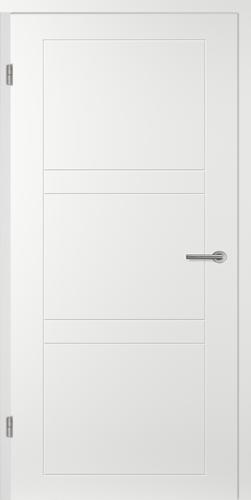 Designtürelement Weißlack EPC mit Vorsatzsprosse CN54