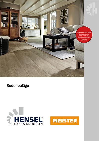 neu katalog bodenbel ge hensel t ren. Black Bedroom Furniture Sets. Home Design Ideas
